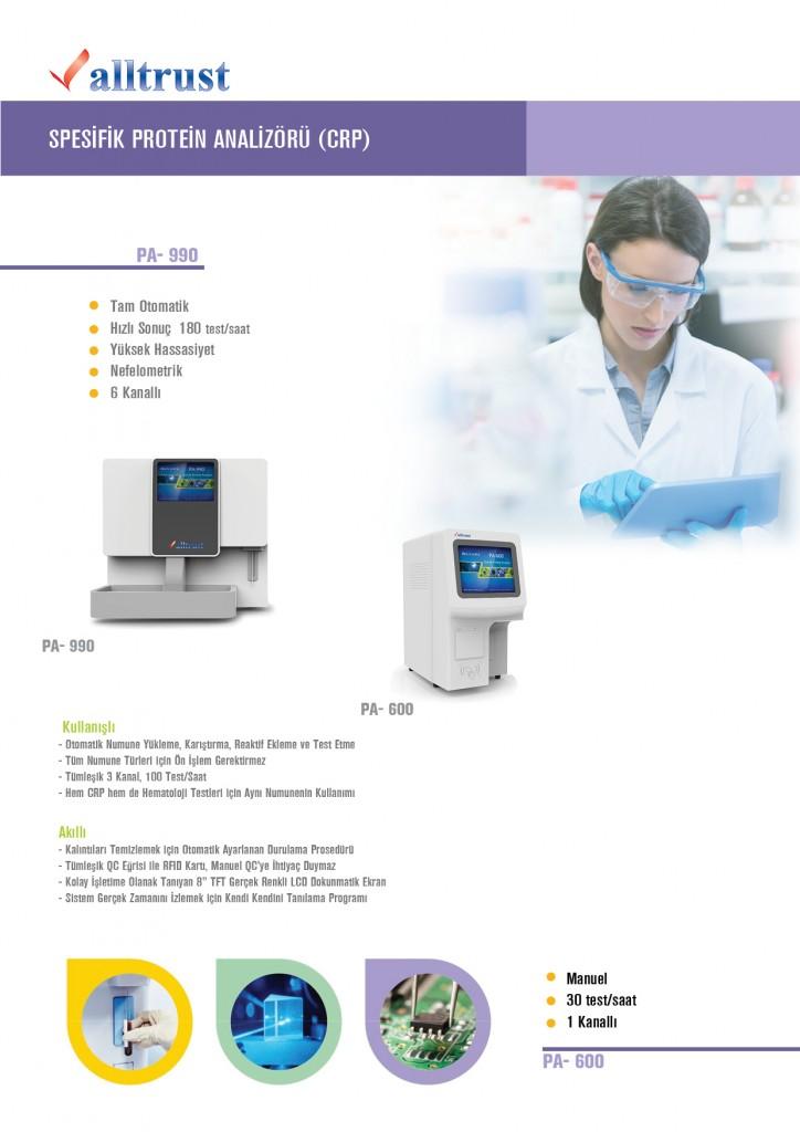 Spesifik Protein Analizörü (CRP